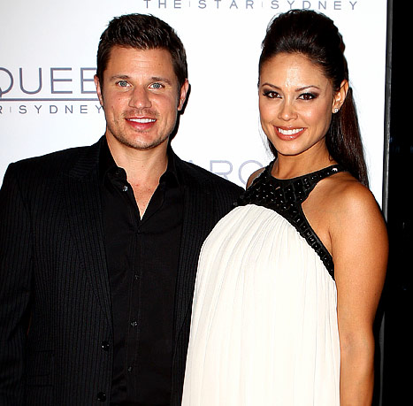 "Nick Lachey to Future Son: ""Hurry Up And Get Out"""
