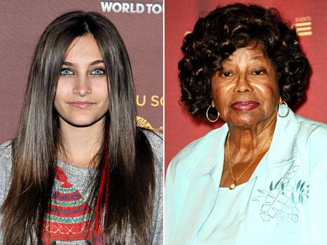 Paris Jackson Reunites With Grandma Katherine Jackson