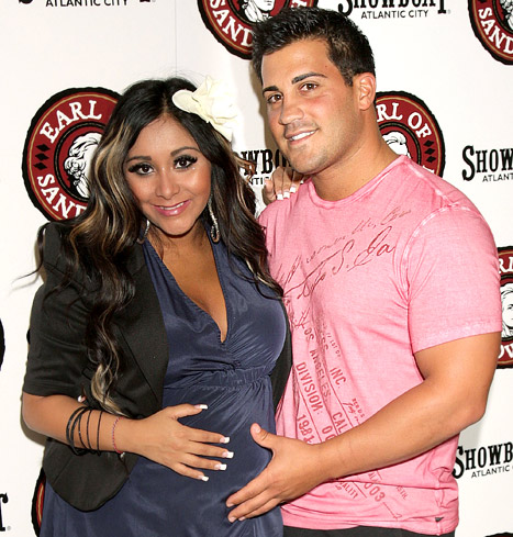 "Pregnant Snooki: I'm Now the ""Responsible One"" With Jersey Shore Pals"