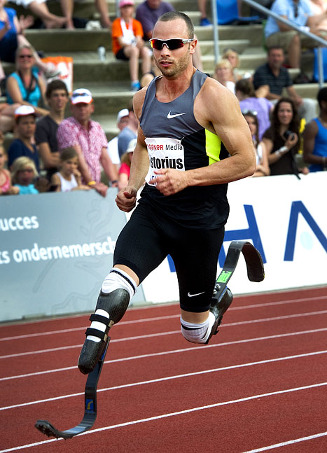 Olympic Double Amputee Oscar Pistorius: I Don't Expect to Win!
