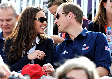 Kate Middleton, Prince William Wear Matching Outfits to Support Cousin Zara At Olympics