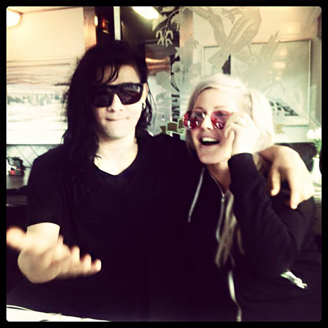 "Ellie Goulding on Boyfriend Skrillex: ""We Motivate Each Other"""