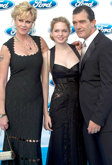 PIC: Melanie Griffith, Antonio Banderas Squash Divorce Rumors on Red Carpet