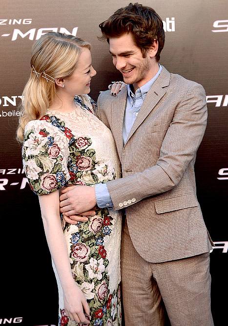 Emma Stone and Andrew Garfield's Sweetest Moments