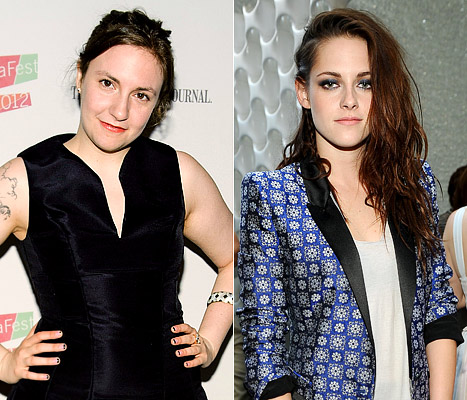 Lena Dunham Mocks Kristen Stewart's Public Apology to Robert Pattinson