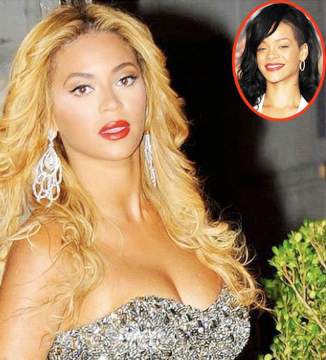 "Rihanna Tweets Pic of Beyonce, Claims Photo Will ""Destroy the Self Esteem of an Entire Nation"""