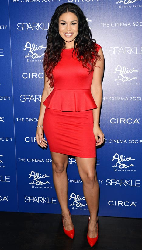 Jordin Sparks Shows Off 50-Pound Weight Loss at Sparkle Premiere