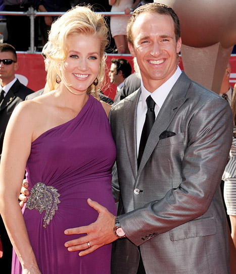 New Orleans Saints' Drew Brees Welcomes Third Son Callen Christian