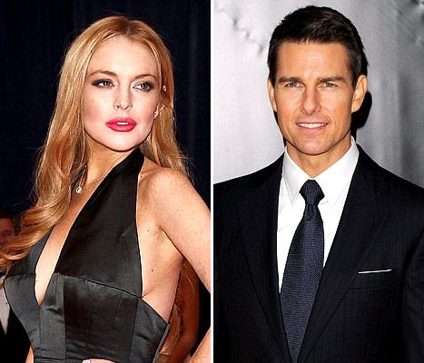 Lindsay Lohan Denies Involvement in Tom Cruise Vanity Fair Article