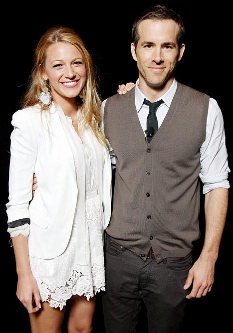 Blake Lively Weds Ryan Reynolds!