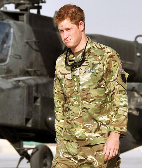 Prince Harry's Presence Motivated Taliban to Attack British Afghanistan Base