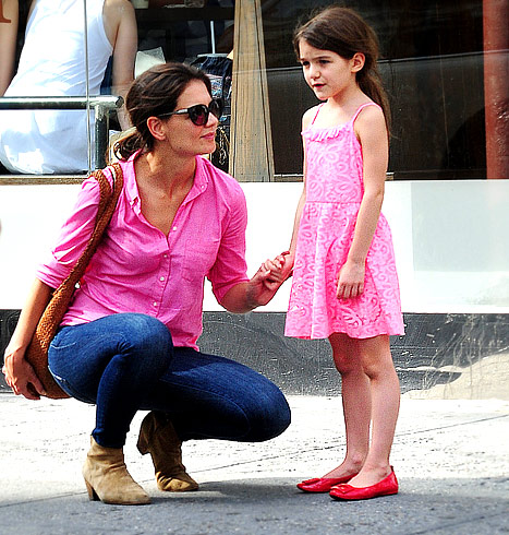 "Katie Holmes' Divorce From Tom Cruise Has Been ""Hard On Suri"""