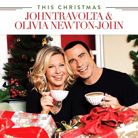 John Travolta, Olivia Newton-John Reunite on Cheesy Christmas Album Cover