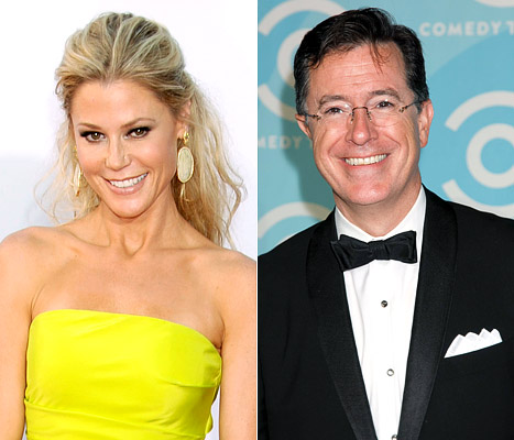 "Julie Bowen on Stephen Colbert: He's My Ultimate ""Hall Pass"""