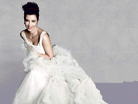 "Kim Kardashian: My Next Wedding Will Be ""On an Island With Just My Friends and Family"""