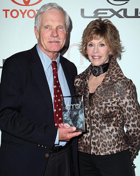"Jane Fonda: Ted Turner Is ""My Favorite Ex-Husband"""