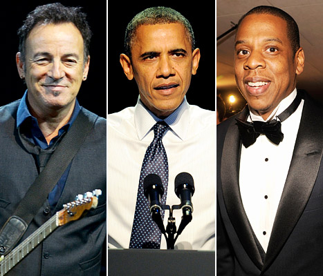 Bruce Springsteen, Jay-Z to Perform at Final Campaign Rallies for President Barack Obama