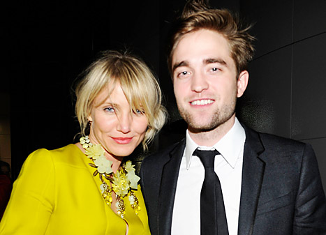 Cameron Diaz Hit On Robert Pattinson During L.A. Gala!