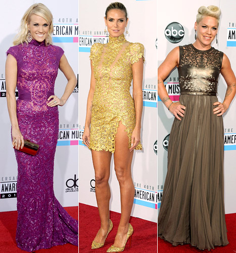 American Music Awards 2012: What All the Stars Wore!