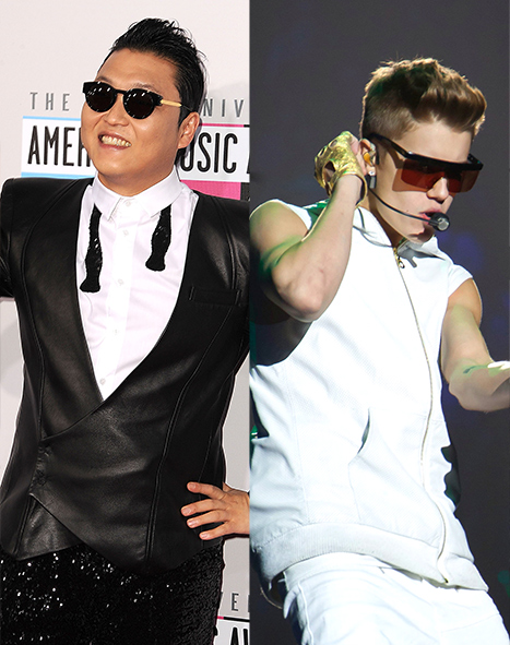 "Psy's ""Gangnam Style"" Surpasses Justin Bieber's ""Baby"" as Most-Watched YouTube Video"