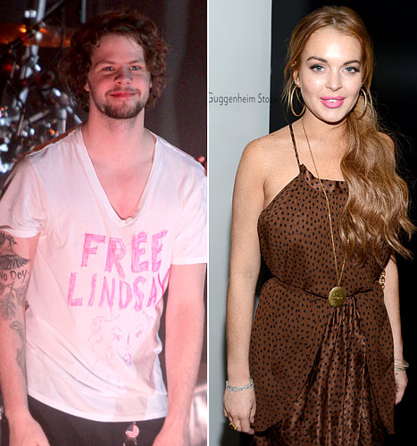 """PICTURE: The Wanted's Jay McGuiness Wears """"Free Lindsay"""" T-Shirt After Lohan's Assault Arrest"""