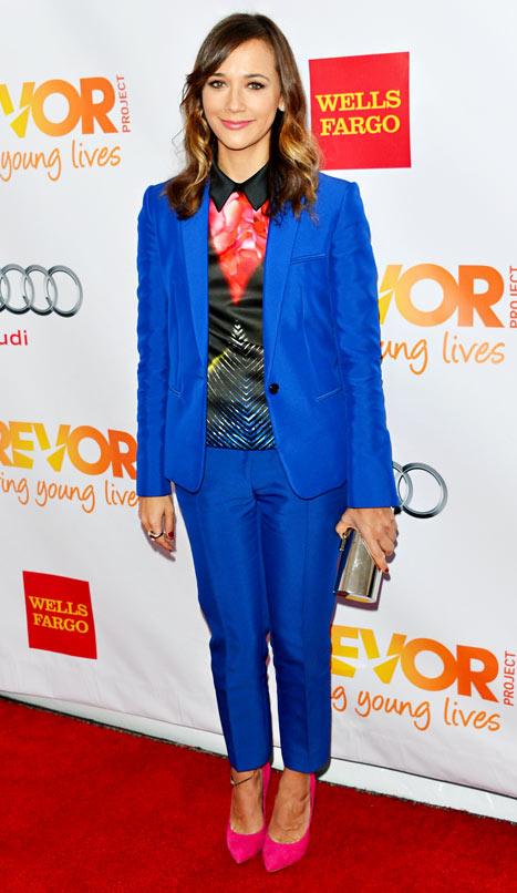 Write a Fashion Police Caption for Rashida Jones