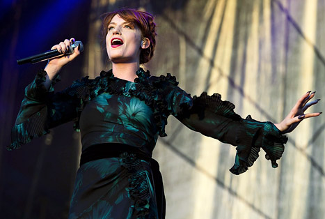 Florence Welch Stops Concert to Break Up Fight