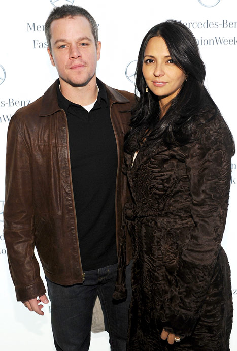 """Matt Damon: My Wife and Daughters """"Can Bring Me to My Knees"""""""