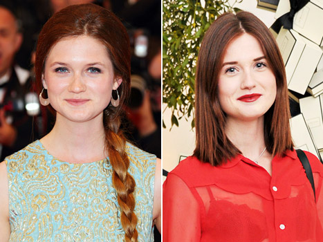 Bonnie Wright, Harry Potter Star, Chops Off Her Hair and Dyes It Darker!