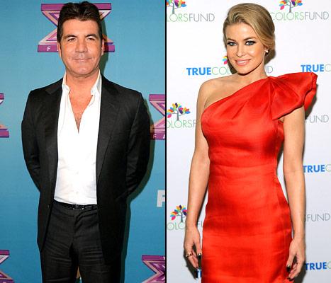 Simon Cowell Confirms He's Dating Carmen Electra