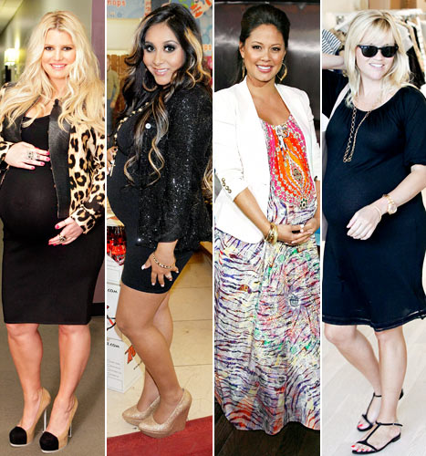 Celebrity Pregnancies 2012: Who Had the Best Maternity Style?