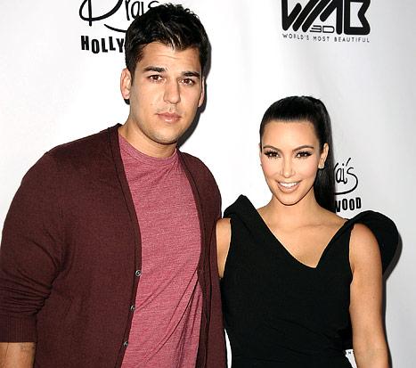 "Rob Kardashian Calls Sister Kim Kardashian's Pregnancy a ""Beautiful Blessing"""