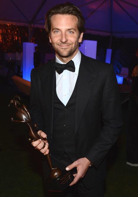 Bradley Cooper Hits First Red Carpet After Zoe Saldana Split