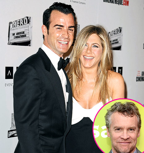"""Jennifer Aniston's Ex-Boyfriend Tate Donovan on Her Engagement to Justin Theroux: """"I Am Very Happy for Her"""""""