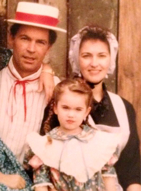 """Megan Fox Shares Funny """"Wild West"""" Family Picture From Childhood"""