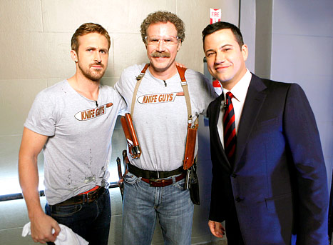 Ryan Gosling and Will Ferrell Start New Late-Night Feud With Jimmy Kimmel