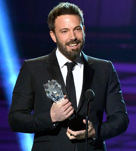 Ben Affleck Wins Critics' Choice Movie Award for Best Director After Oscars Snub