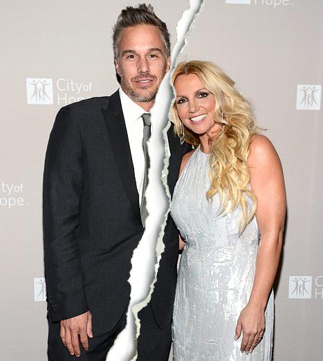 Britney Spears, Fiance Jason Trawick Split