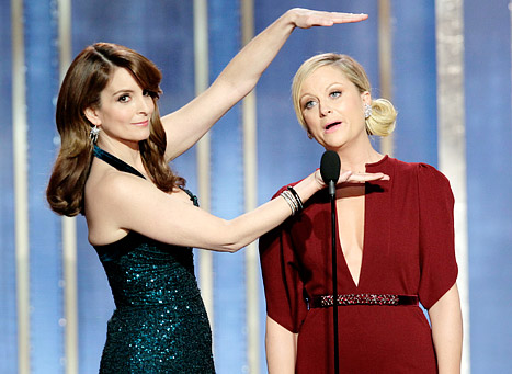 Tina Fey and Amy Poehler's Best Golden Globes Zingers