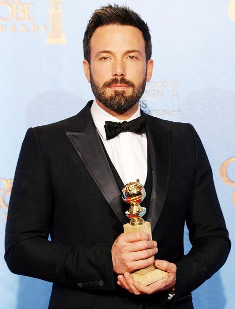 "Ben Affleck Wins Best Director, Best Picture Golden Globes for Argo, Tells Jennifer Garner: ""You Are My Everything"""