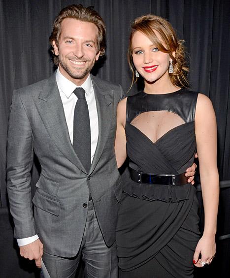 "Bradley Cooper Denies Dating Jennifer Lawrence: ""I Could Be Her Father"""