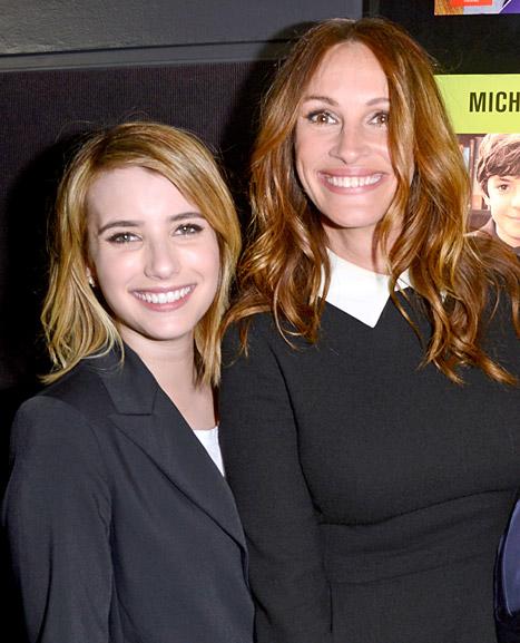 Emma Roberts Introduces Boyfriend Evan Peters to Aunt Julia Roberts!