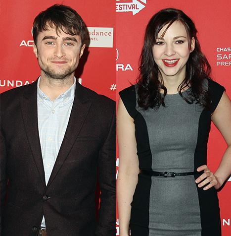 Daniel Radcliffe Flirts With Costar Erin Darke at Sundance Film Festival