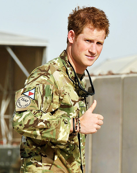 "Prince Harry on Kate Middleton's Pregnancy: ""I'm Thrilled!"""
