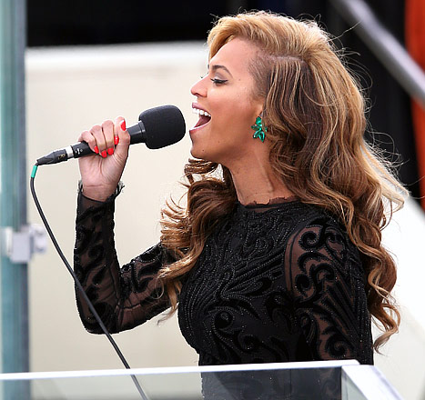 Beyonce Didn't Rehearse National Anthem With Marine Band Until Night Before Inauguration