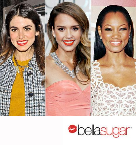 Three Ways to Wear Orange Lipstick