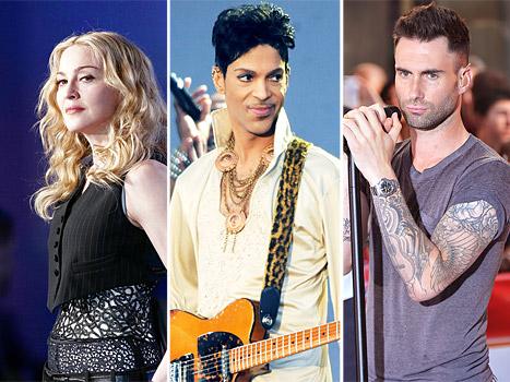 Prince Slams Madonna, Maroon 5