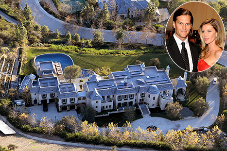 Gisele Bundchen, Tom Brady's $20 Million Mansion Is Complete: Pictures
