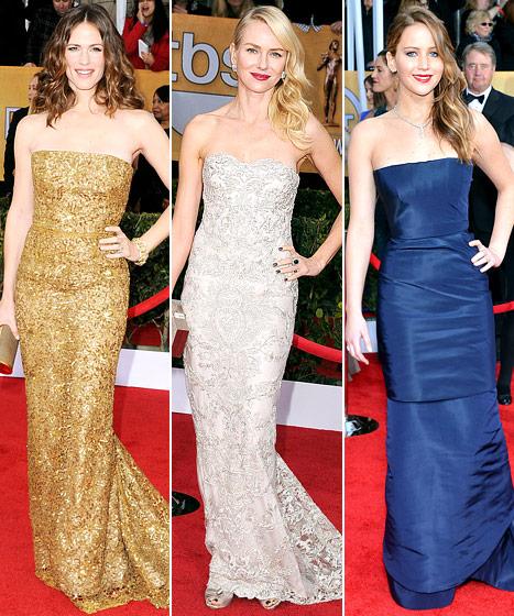 SAG Awards 2013: Us' Best-Dressed List Revealed!