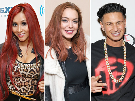 "Snooki Thinks Lindsay Lohan and Pauly D ""Made Out"""